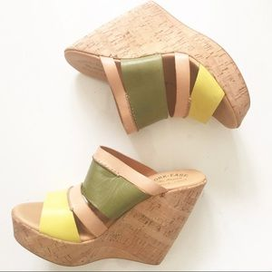 KORK-EASE Paige Wedge Sandals Size 8